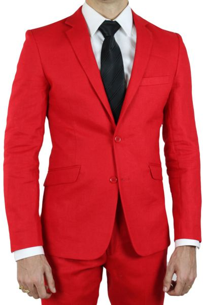 kebello pourquoi choisir un costume rouge pour homme. Black Bedroom Furniture Sets. Home Design Ideas