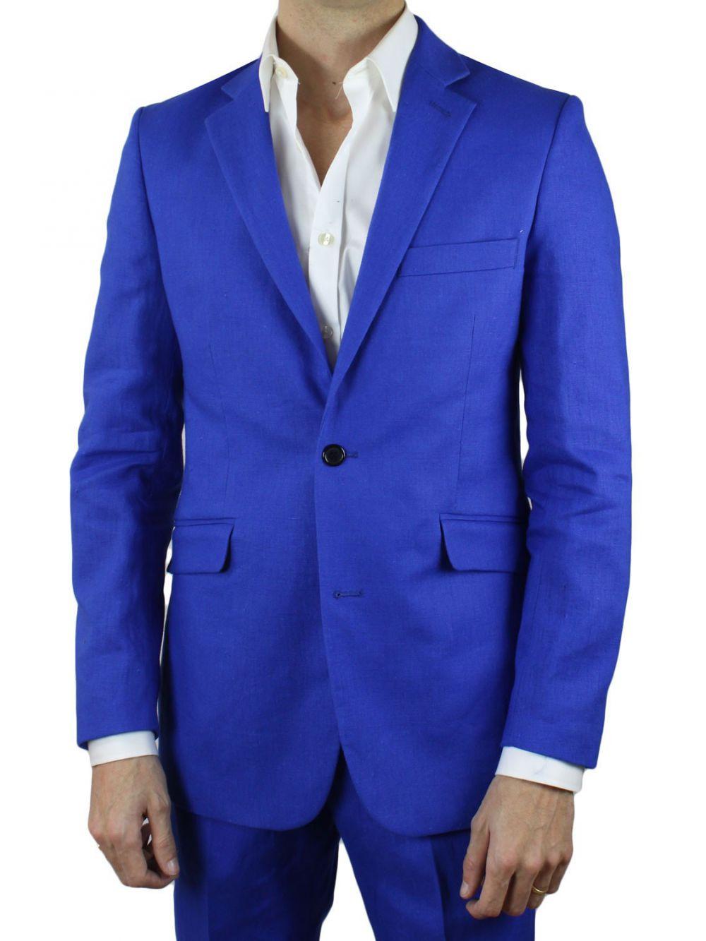 costume lin bleu pas cher costume homme kebello. Black Bedroom Furniture Sets. Home Design Ideas
