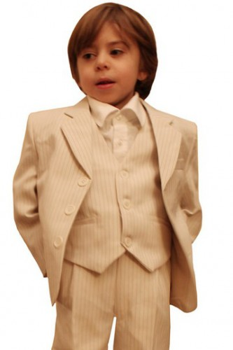 Costume Enfant  Rayé Beige