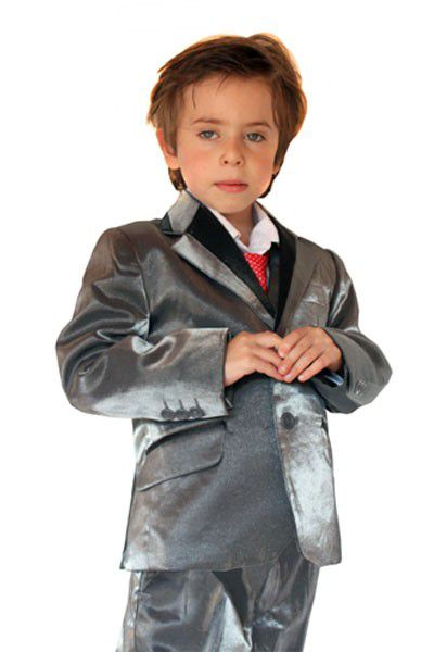 costume enfant pars de couleur gris pas cher kebello com. Black Bedroom Furniture Sets. Home Design Ideas