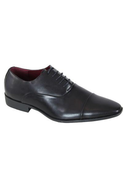 Kebello Derbies aspect suedé noir - Livraison Gratuite avec - Chaussures Richelieu Homme