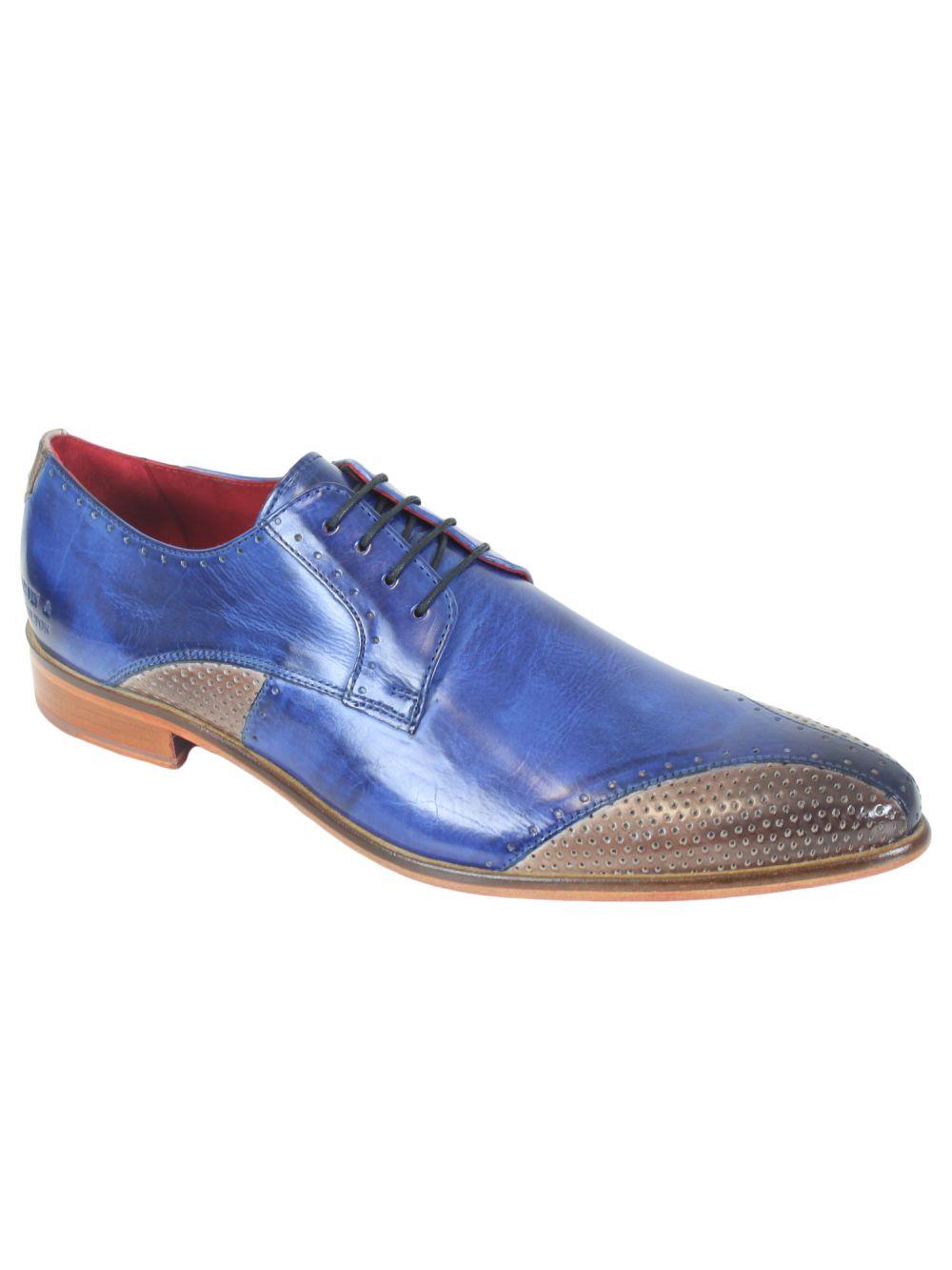 chaussures cuir bleu melvin hamilton toni 9 pas cher. Black Bedroom Furniture Sets. Home Design Ideas