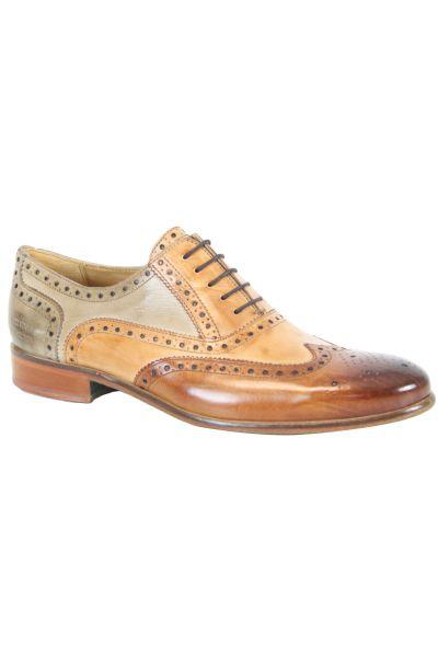 chaussures cuir marron melvin hamilton henry 1 pas cher. Black Bedroom Furniture Sets. Home Design Ideas