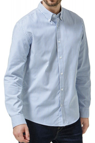 Chemise Selected Oak Rayé