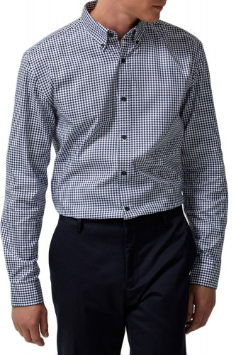 Chemise Selected Oak Check