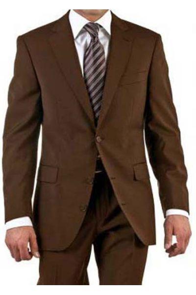 Bien connu Costume homme de couleur marron Fil à Fil pas cher | Kebello com GC56