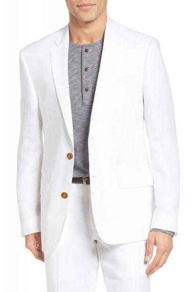 costume en lin blanc mod le lucciano costume homme kebello. Black Bedroom Furniture Sets. Home Design Ideas