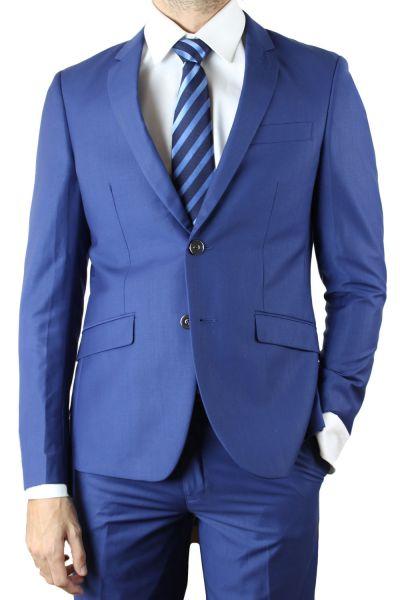 costumes pour hommes bleu p trole fil fil costume bleu kebello