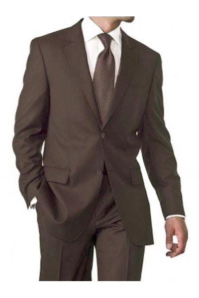 costumes pour hommes marron 100 laines pas cher kebello. Black Bedroom Furniture Sets. Home Design Ideas
