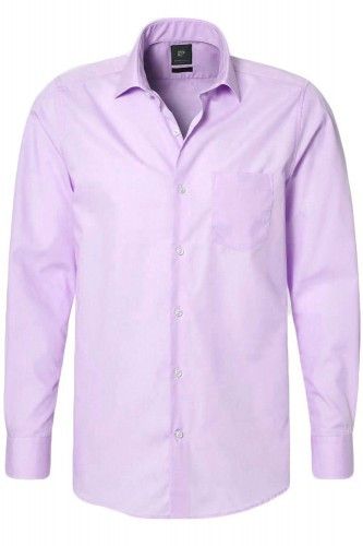 Chemise Pierre Cardin easy care parme