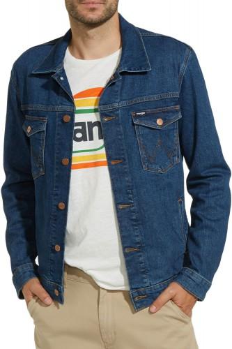 Blouson en jeans Wrangler Regular Darkstone