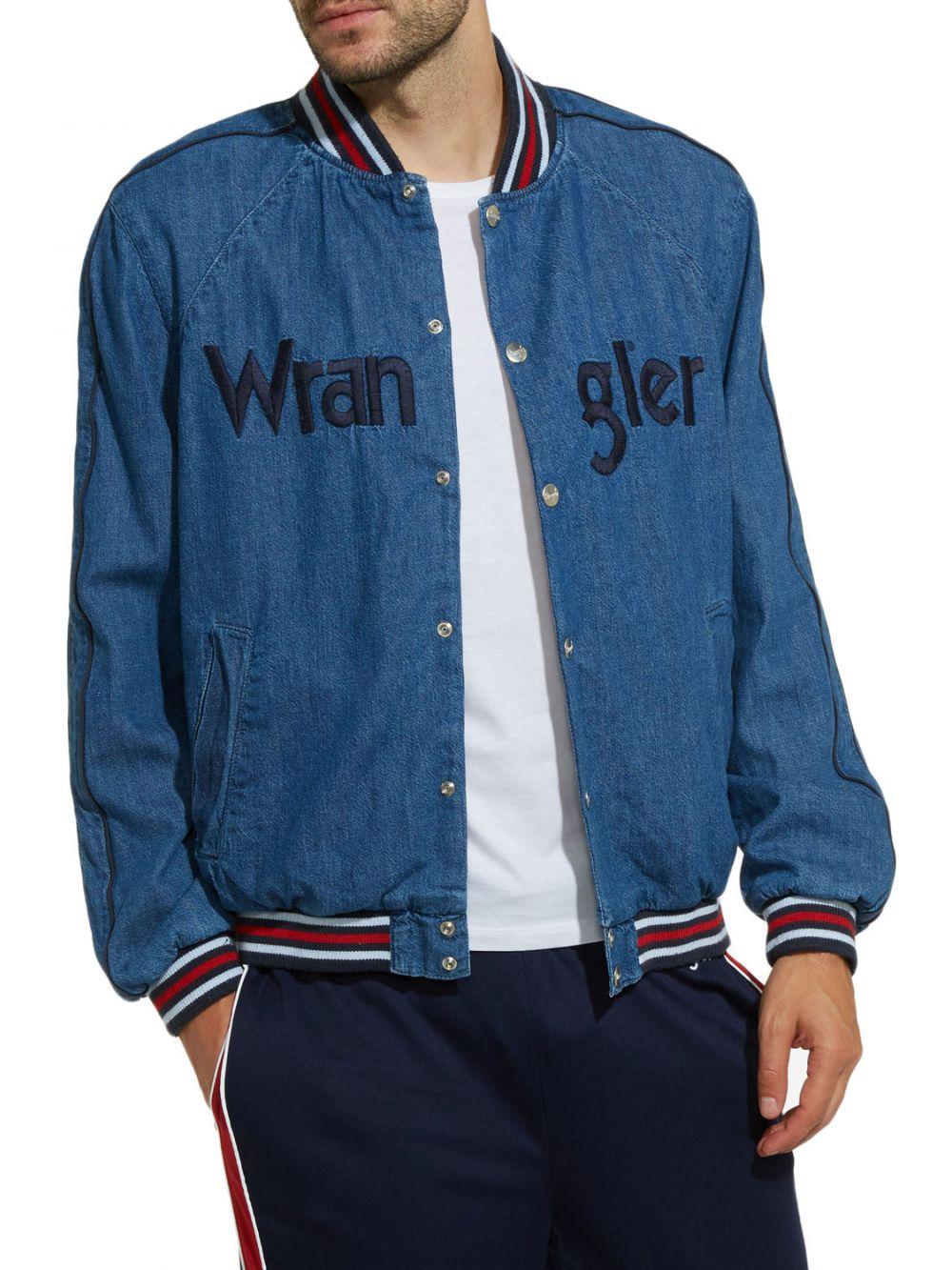Bombers en jeans Wrangler