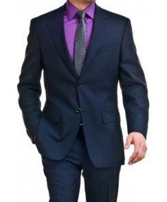 acheter un costume bleu pour homme pas cher en ligne top prix kebello. Black Bedroom Furniture Sets. Home Design Ideas