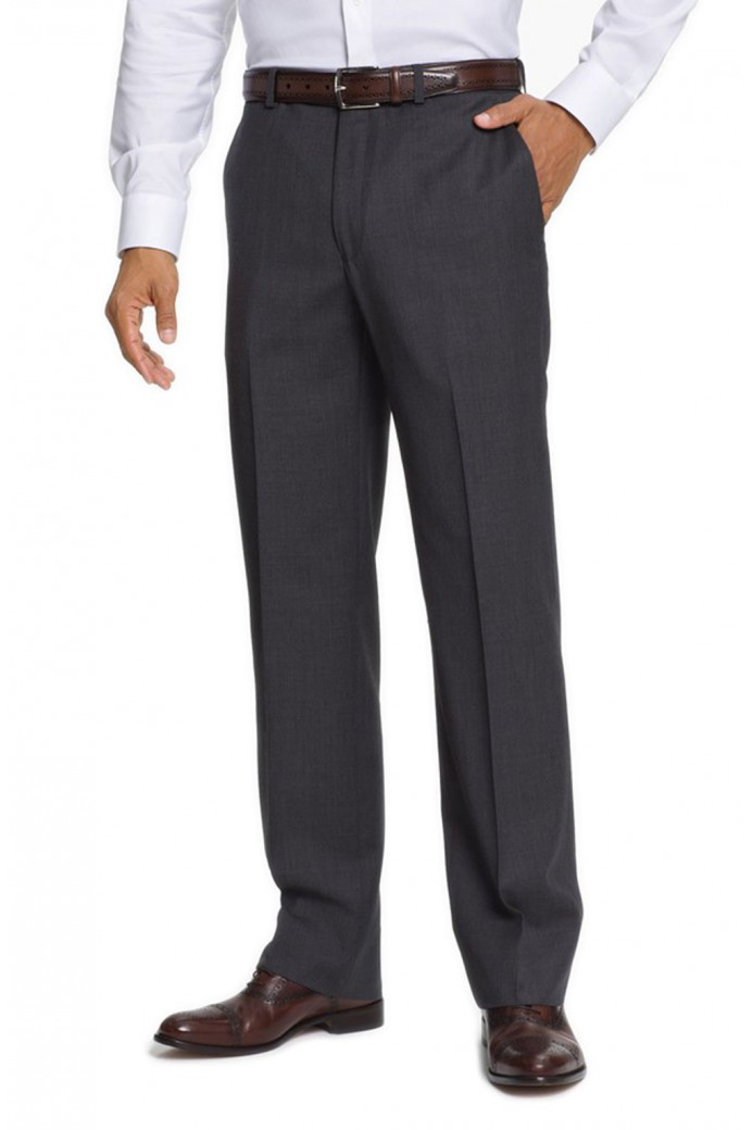 Pantalon Laine Anthracite