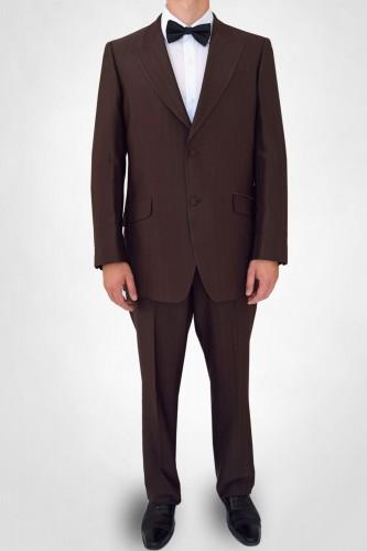 acheter un costume marron ou brun pour homme pas cher top. Black Bedroom Furniture Sets. Home Design Ideas