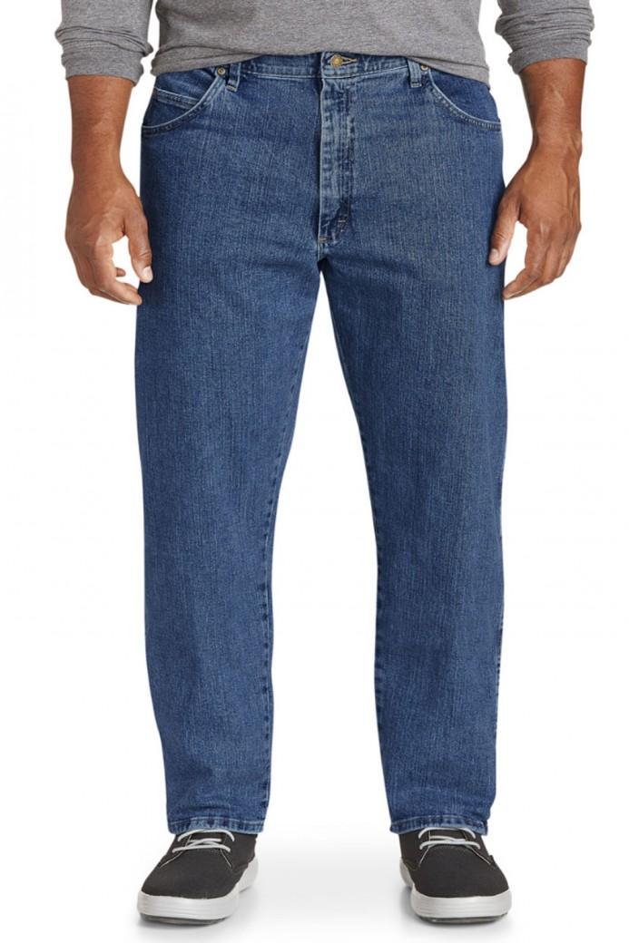 Jeans grandes tailles bleu