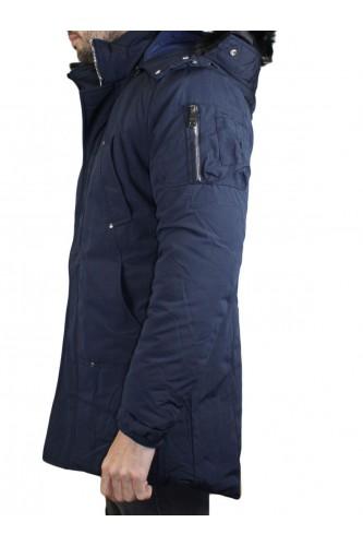 Parka pour homme bleu marine modèle 2005