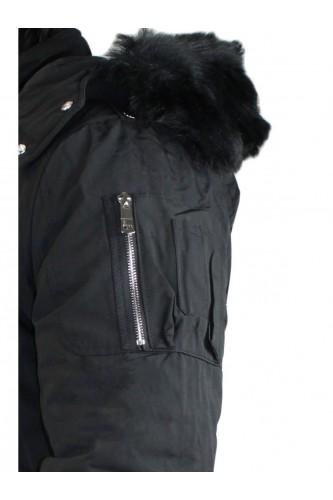 Parka pour homme noir modèle 2005