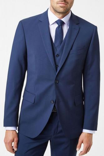 Veste bleu marine avec gilet pour homme