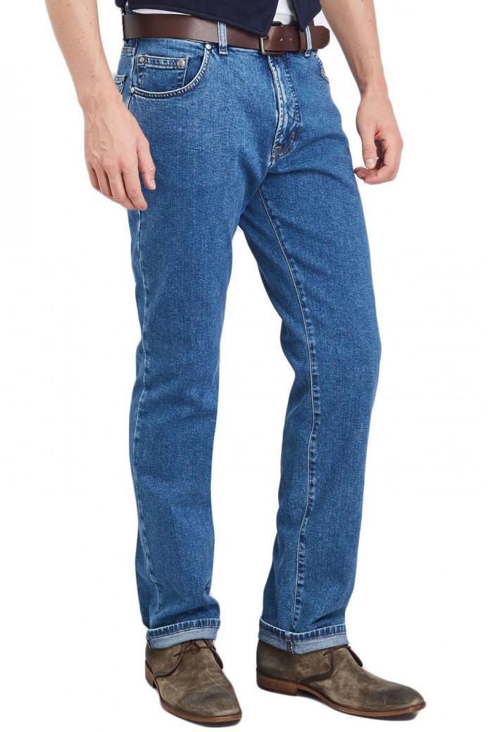 Jean's Clark bleu coupe classique