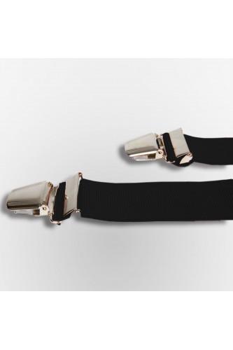 Bretelles noir pour homme