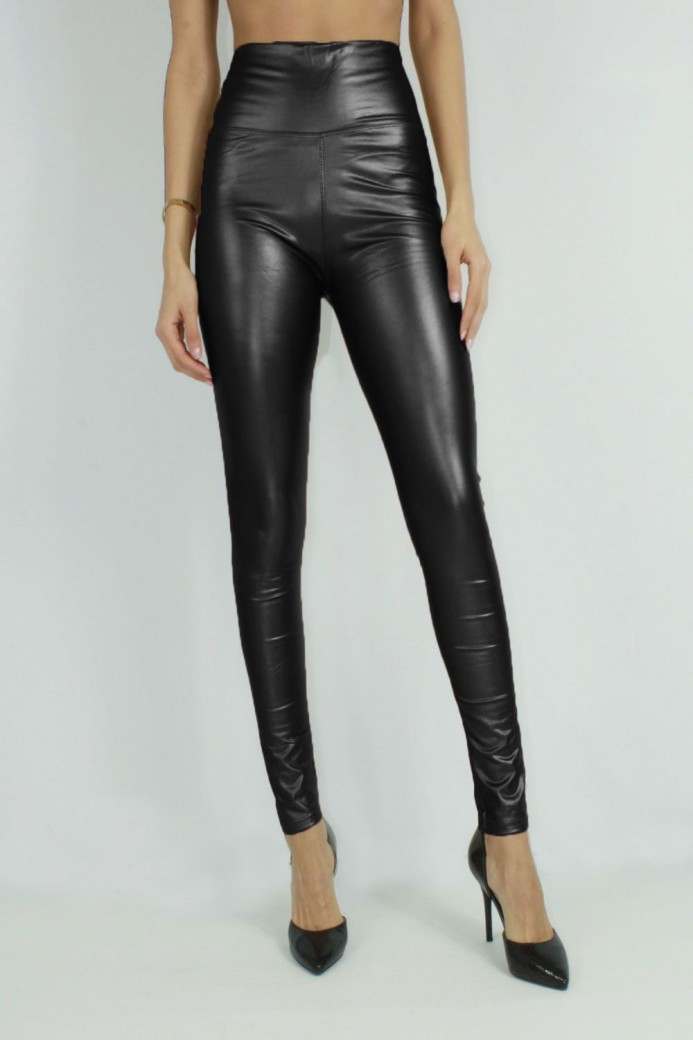 Leggings brillant noir