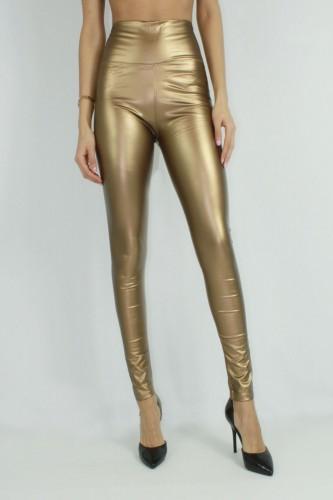 Leggings brillant gold