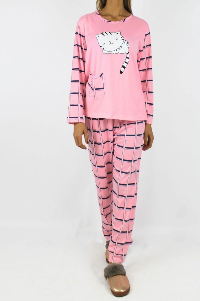 Pyjama cat rose
