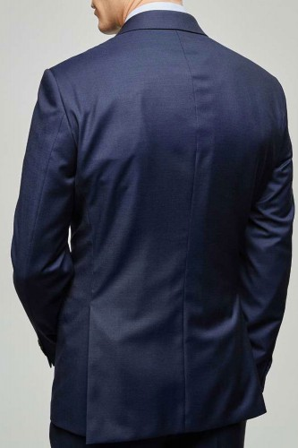 Costume classique bleu