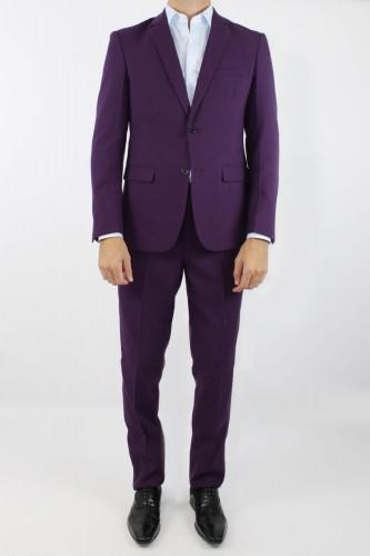 Costume 2 boutons violet
