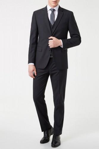 Costume noir 3 pièces