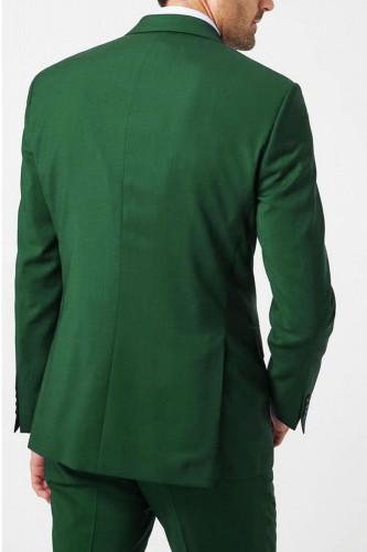 Costume vert 3 pièces