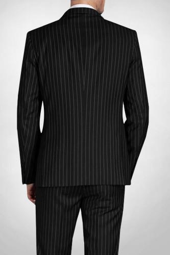 Costume à rayures noir