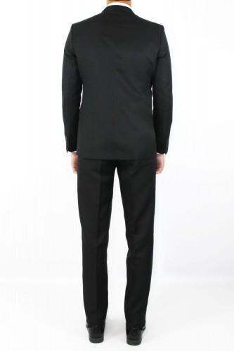 Costume croisé noir