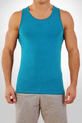 Débardeur bleu turquoise