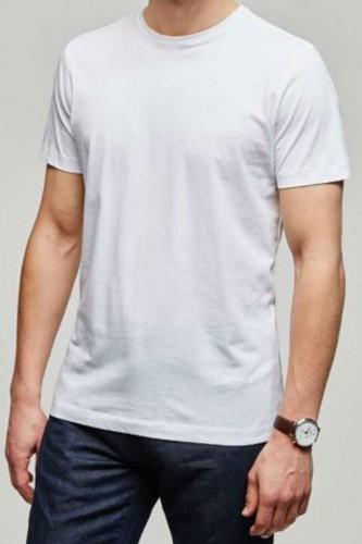T-Shirt blanc manches courtes