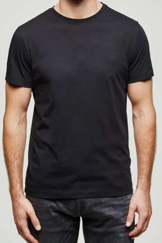 T-Shirt noir manches courtes