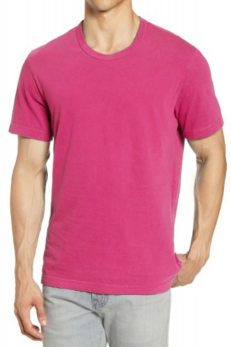 T-Shirt rose manches courtes