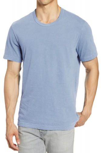 T-Shirt bleu ciel manches courtes