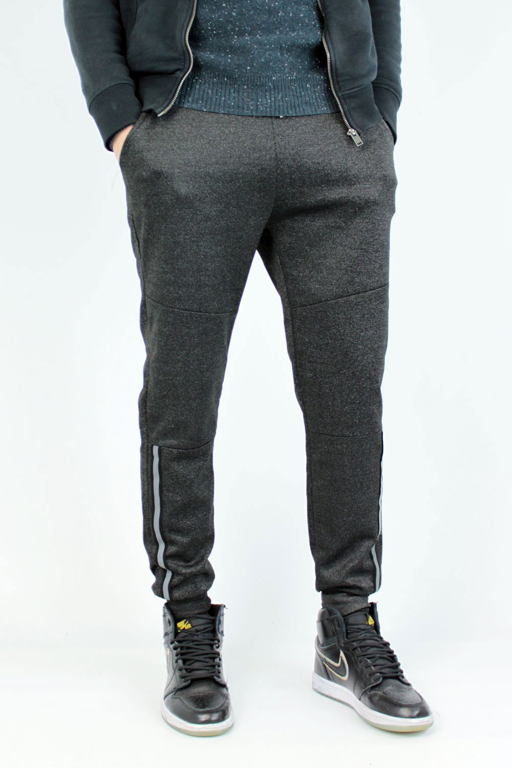 Jogging anthracite 081