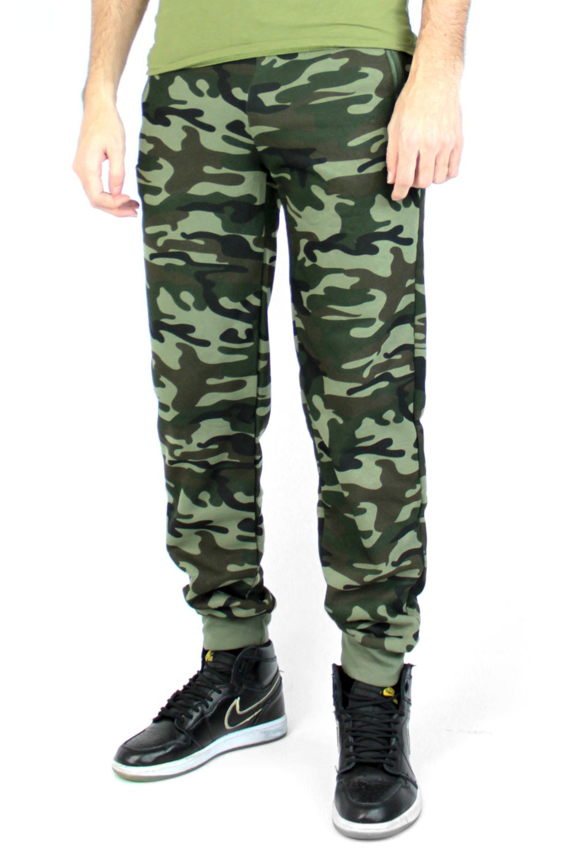 Jogging militaire kaki