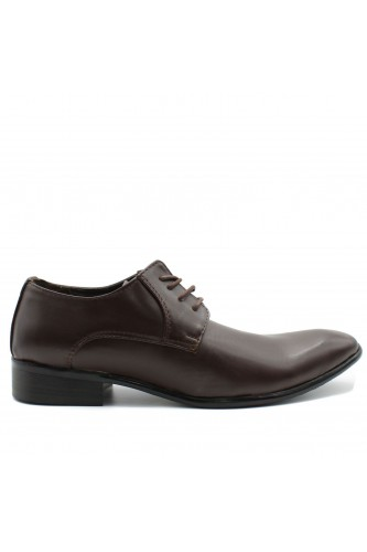 Chaussures derbies marron