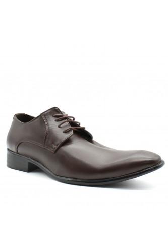 Chaussures derbies marron
