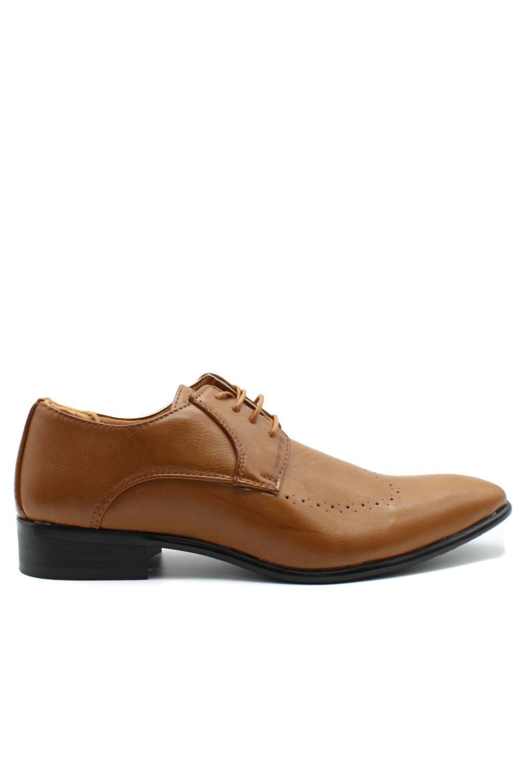 Chaussures derbies beige
