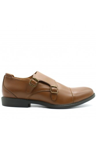 Derbies Monk marron