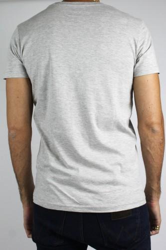 T-Shirt manches courtes grises