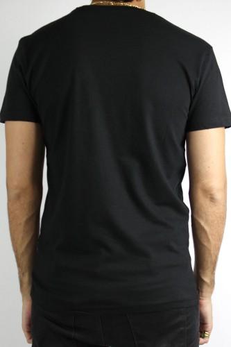 T-Shirt Solid Briley noir