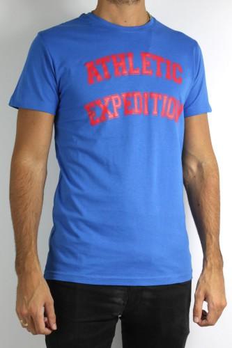 T-Shirt Solid Briley bleu