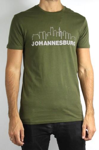 T-Shirt SOLID Johannesburg kaki