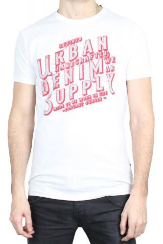 T-Shirt Solid Hanoch blanc